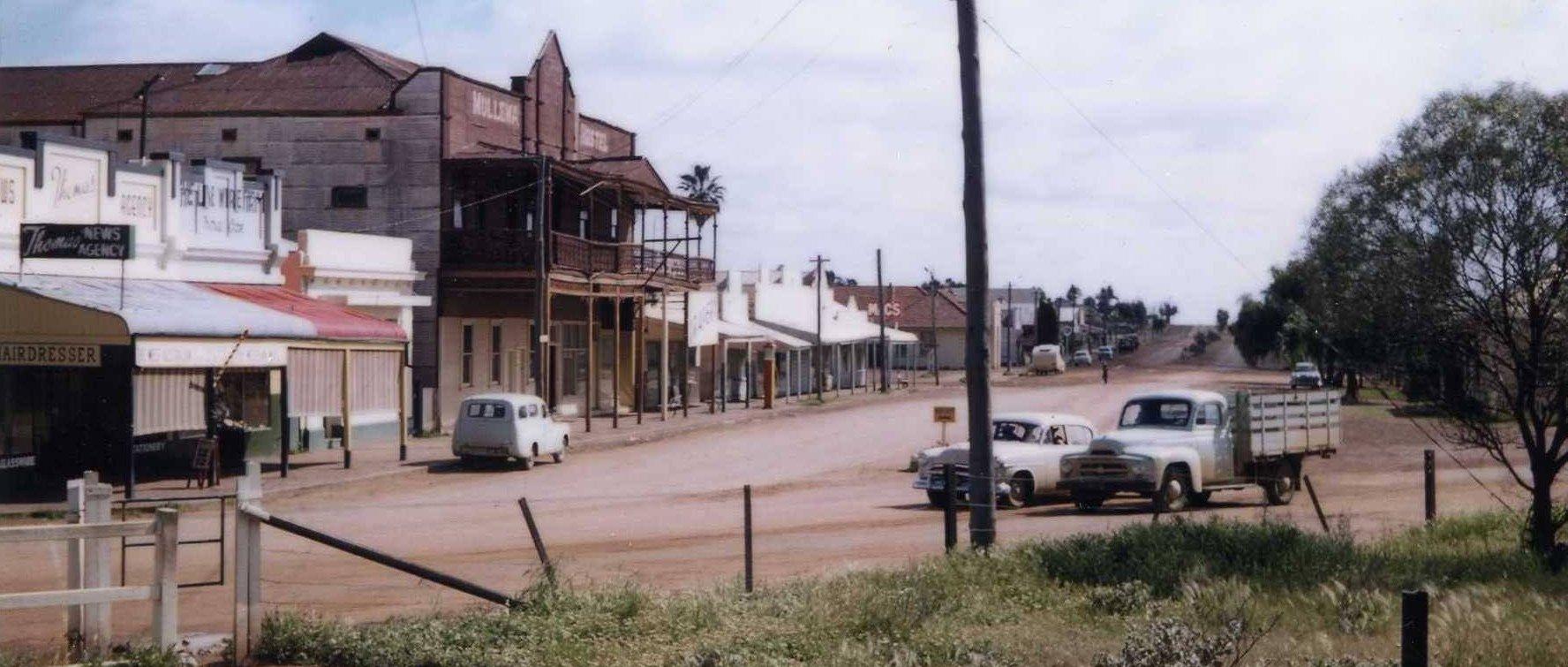 Jose Street Mullewa 1957