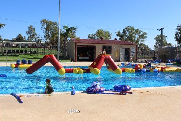 Australia Day at Mullewa Swimming Pool